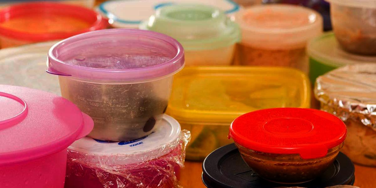 Recipientes de plástico con ftalatos y bisfenoles